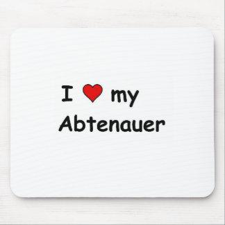 I Love My Abtenauer Mouse Pad