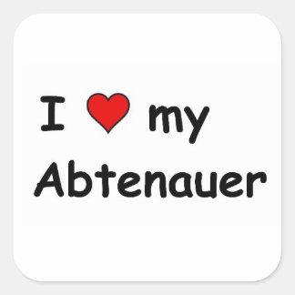 I Love My Abtenauer Square Sticker