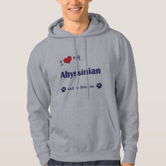 I Love My Abyssinian (Male Cat) Hoodie