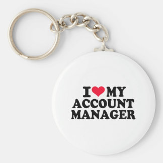 I love my Account Manager Keychains