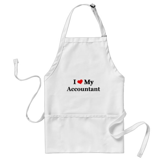 I love my Accountant Adult Apron