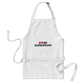I love my Accountant Aprons