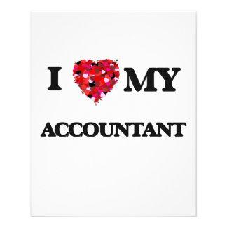 "I love my Accountant 4.5"" X 5.6"" Flyer"