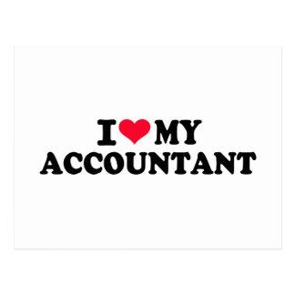 I love my Accountant Postcard