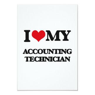I love my Accounting Technician Custom Announcements