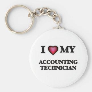 I love my Accounting Technician Keychain