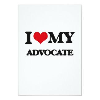 I love my Advocate 3.5x5 Paper Invitation Card
