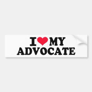 I love my Advocate Bumper Sticker