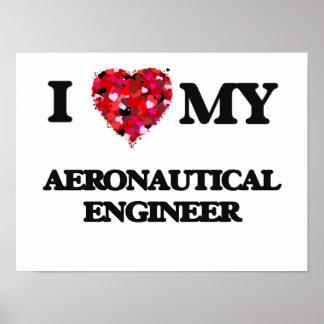 I love my Aeronautical Engineer Poster