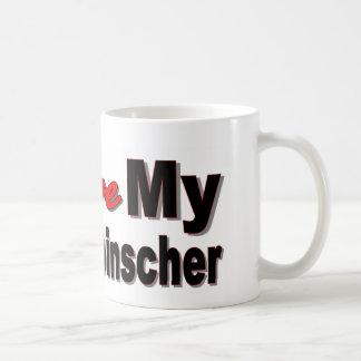 I Love My Affenpincher Classic White Coffee Mug
