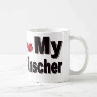 I Love My Affenpinscher Dog Merchandise Coffee Mug