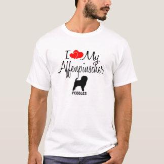 I Love My Affenpinscher Dog T-Shirt