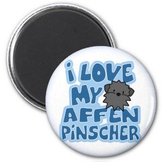 I Love My Affenpinscher Magnet