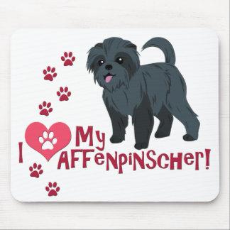 I Love My Affenpinscher! Mouse Pad