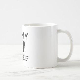 I Love My Affenpinscher Classic White Coffee Mug