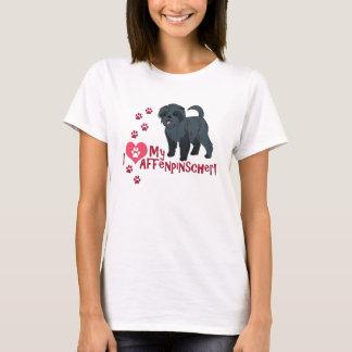I Love My Affenpinscher! T-Shirt
