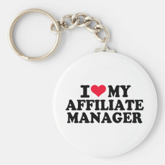 I love my affiliate manager keychain