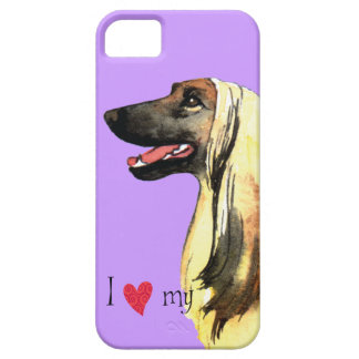 I Love my Afghan Hound iPhone SE/5/5s Case
