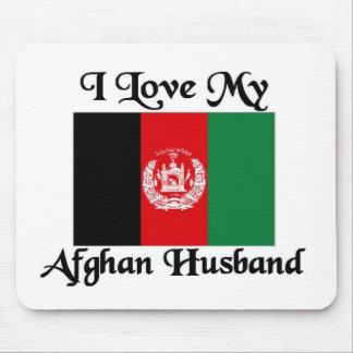 I love my Afghan Husband Mouse Pad