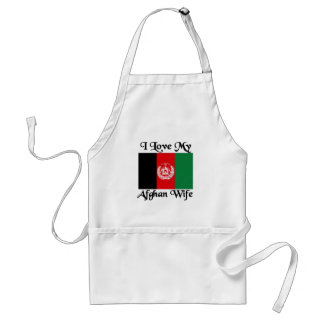 I love my Afghan Wife Adult Apron