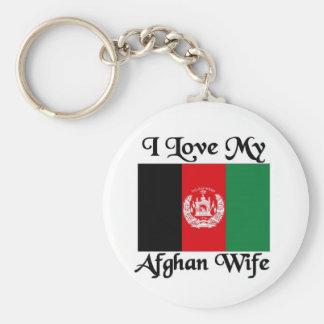 I love my Afghan Wife Keychain