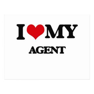 I love my Agent Postcard