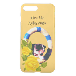 I Love My Agility Aussie, Yellow Roses 7+ iPhone 8 Plus/7 Plus Case