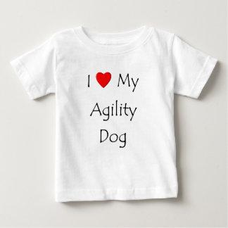 I Love My Agility Dog Baby T-Shirt