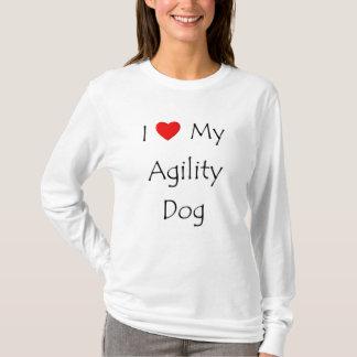 I Love My Agility Dog T-Shirt
