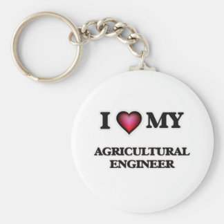 I love my Agricultural Engineer Keychain