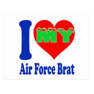 I love my Air Force Brat Postcard