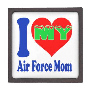 I love my Air Force Mom. Premium Jewelry Box