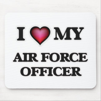 I love my Air Force Officer Mouse Pad