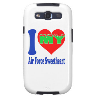 I love my Air Force Sweetheart. Galaxy S3 Case