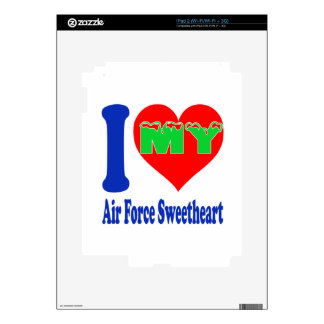 I love my Air Force Sweetheart. Skins For The iPad 2