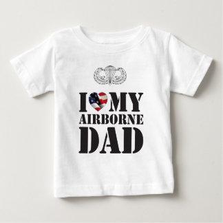 I LOVE MY AIRBORNE DAD SHIRT