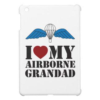 I LOVE MY AIRBORNE GRANDAD iPad MINI CASES