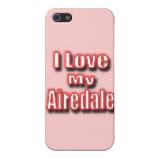 I Love My Airedale iPhone SE/5/5s Case