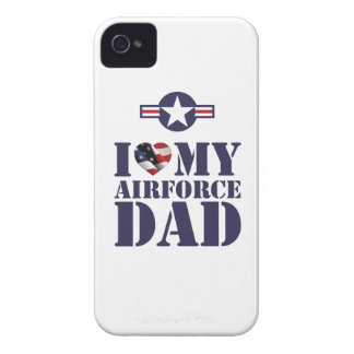 I LOVE MY AIRFORCE DAD iPhone 4 COVER