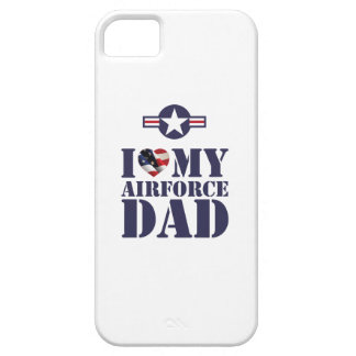 I LOVE MY AIRFORCE DAD iPhone 5 CASE