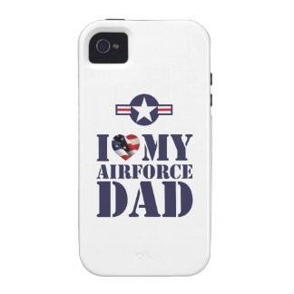 I LOVE MY AIRFORCE DAD iPhone 4 COVERS