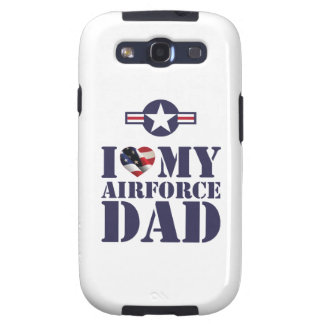 I LOVE MY AIRFORCE DAD GALAXY SIII CASES