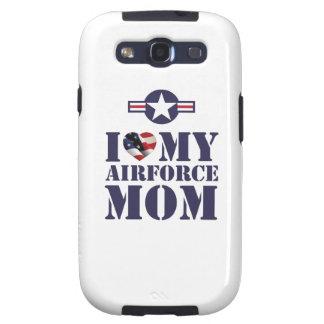 I LOVE MY AIRFORCE MOM GALAXY SIII CASE