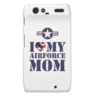 I LOVE MY AIRFORCE MOM MOTOROLA DROID RAZR CASES