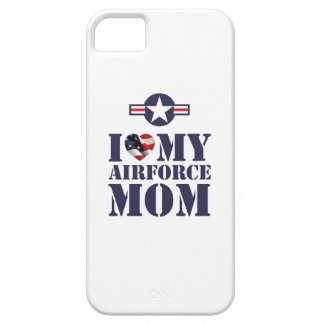 I LOVE MY AIRFORCE MOM iPhone 5 COVERS