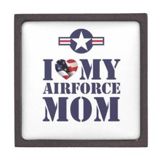 I LOVE MY AIRFORCE MOM PREMIUM KEEPSAKE BOX