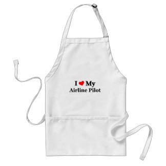 I love my Airline Pilot Adult Apron