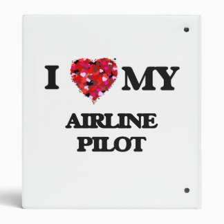 I love my Airline Pilot 3 Ring Binders