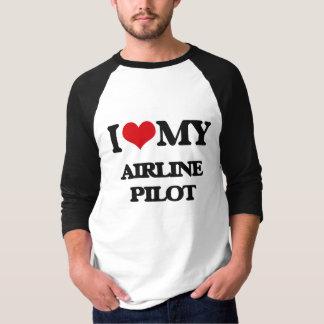 I love my Airline Pilot Tee Shirts