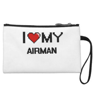 I love my Airman Wristlet Clutches